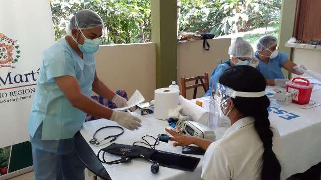 EsSalud Tarapoto continúa con atenciones médicas descentralizadas de prevención por Covid-19