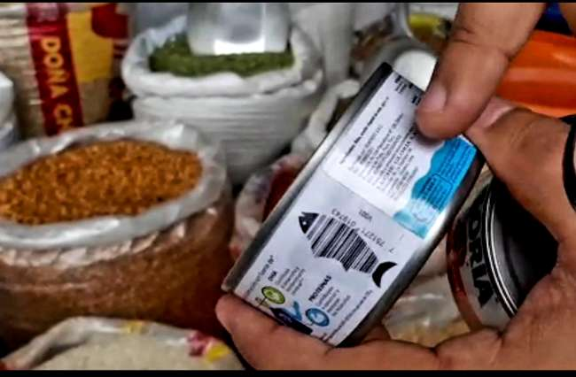 Incautan latas de conservas de pescado de dudosa procedencia