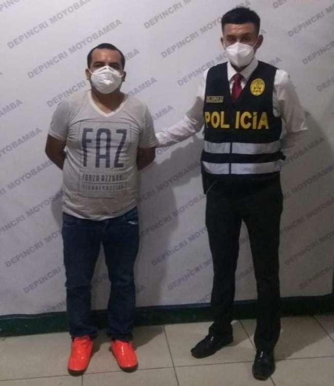 Policía detuvo al ex jefe de abastecimiento de Municipalidad de Soritor