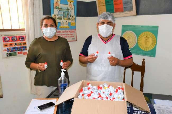 Distribuyen 8 mil dosis de ivermectina para población rural en San Martín