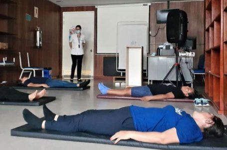 EsSalud Tarapoto realiza terapias post Covid-19 a sus trabajadores