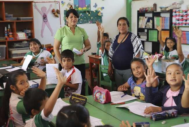 Más de 4200 estudiantes en Tocache podrían perder el año escolar por no acceder a Aprendo en Casa