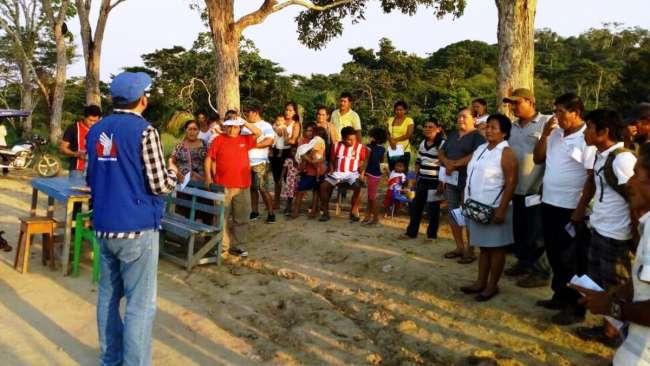 Defensoría del Pueblo:  Se debe reforzar atención a las Comunidades Indígenas afectadas por pandemia en San Martín
