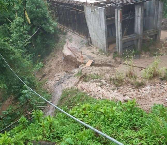 Vecinos reiteran solicitud a Municipalidad de Moyobamba para reiniciar obras en el Puente Tipinillo