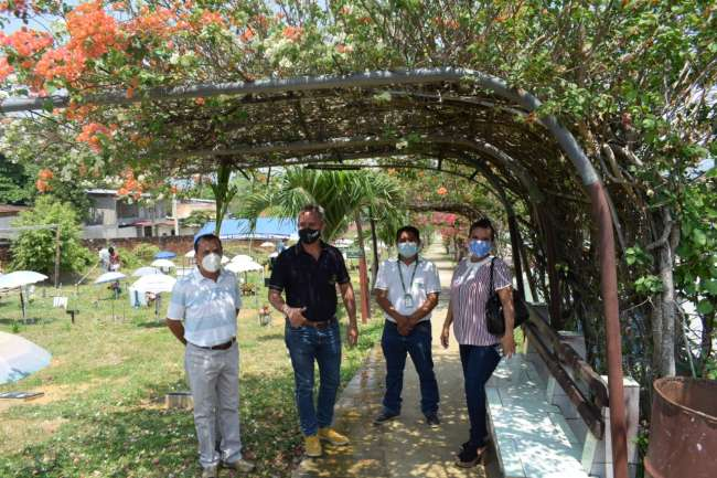 Sociedad de Beneficencia de Tarapoto inicia remodelación de cochera