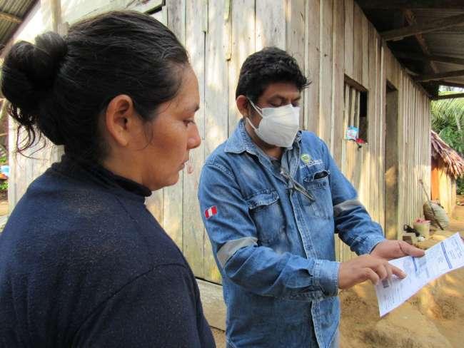 Electo Oriente y Municipalidad Distrital del Pongo de Caynarachi realizan visita de campo
