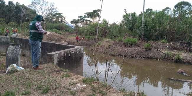 Autoridad Local del Agua supervisa control y vigilancia de las aguas del Río Uquihua