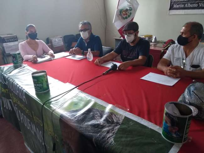 """Colectivos Alto Mayo """"Juntos SI Podemos"""" presentó balance e informe de las acciones."""
