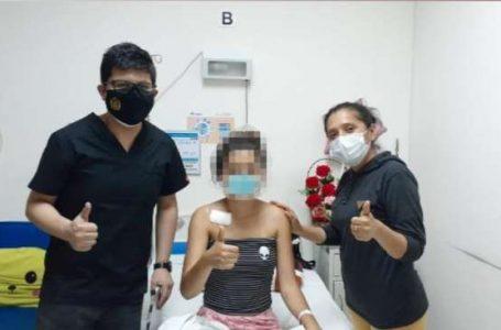 EsSalud Tarapoto da de alta a menor que estuvo en vigilancia intensiva tras accidente de tránsito