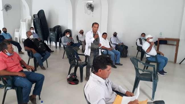 Dirigentes de los productores de arroz se reúnen para priorizar sus necesidades