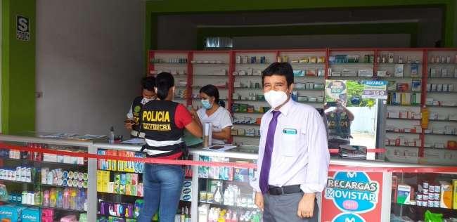 Incautan medicamentos en boticas que no tienen autorización del sector Salud