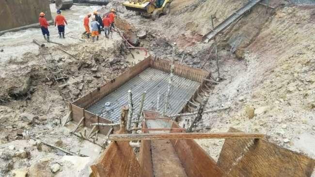 En Sauce. Avanza construcción de Puente Pucayacu