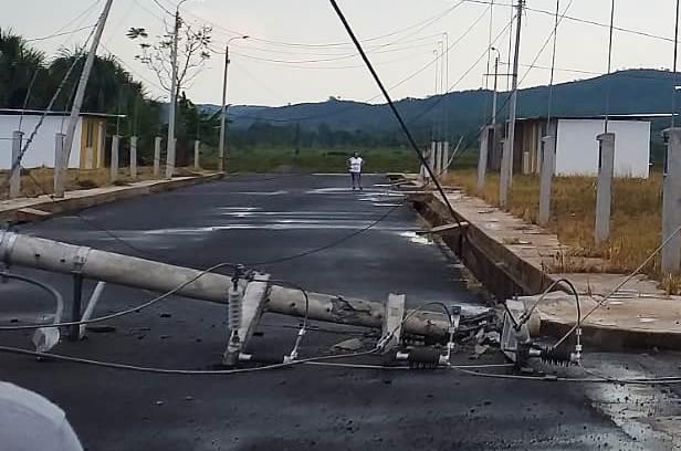 Otra vez…   Naturaleza afecta sistema eléctrico en San Martín