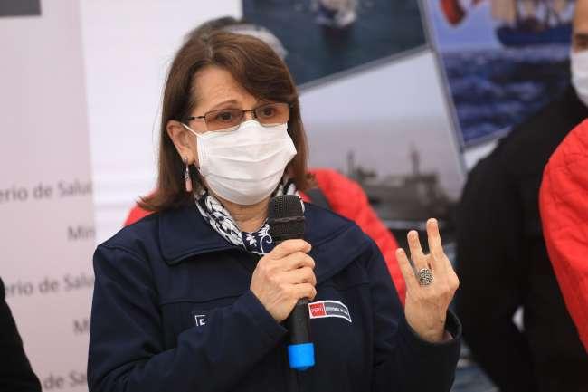 """Ministra de Salud Pilar Mazzetti ante posible rebrote: """"Todo el sistema de salud está en revisión de equipos"""""""