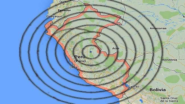 Seis sismos en el país entre la noche del 24 y la mañana del 25 de octubre