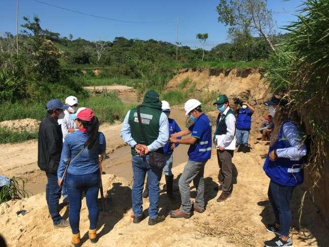 Sin consideración, sin autorización: Extractores ilegales de arena hacen lo que les da la gana en Moyobamba.