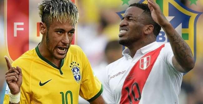 Brasil ganó 4-2 a Perú