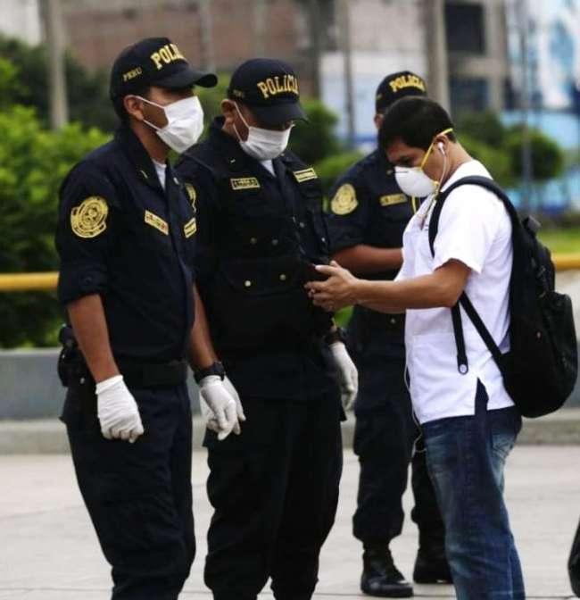 Policías recibirán segundo bono de S/ 720 por acciones de alto riesgo ante el covid-19