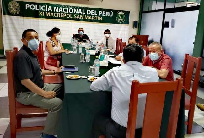 MINISTERIO PÚBLICO COORDINÓ ACCIONES PARA CONTRARRESTAR TRÁFICO ILEGAL DE COMBUSTIBLE EN SAN MARTÍN