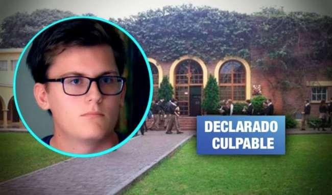Poder Judicial sentencia a exestudiante del colegio Markham por violación