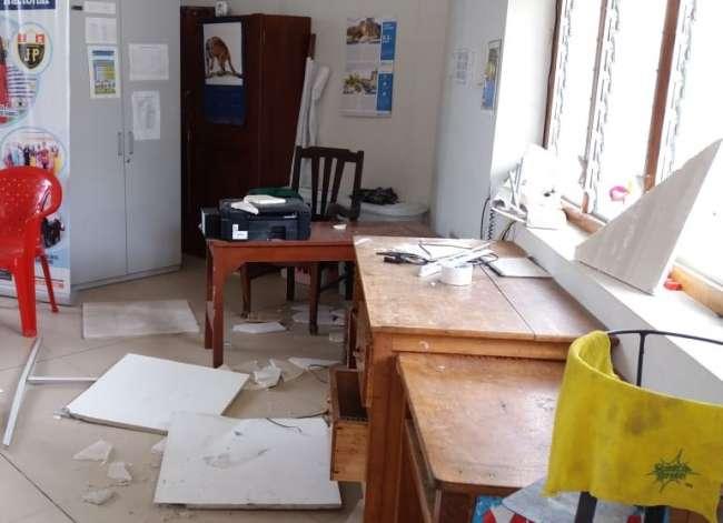 Descubren robo de objetos y artefactos en la Institución Educativa Jiménez Pimentel