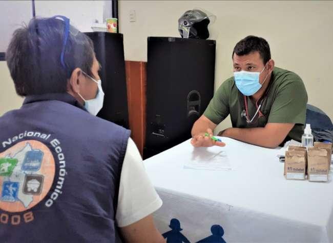 EsSalud Tarapoto realiza atenciones médicas descentralizadas de prevención por Covid-19