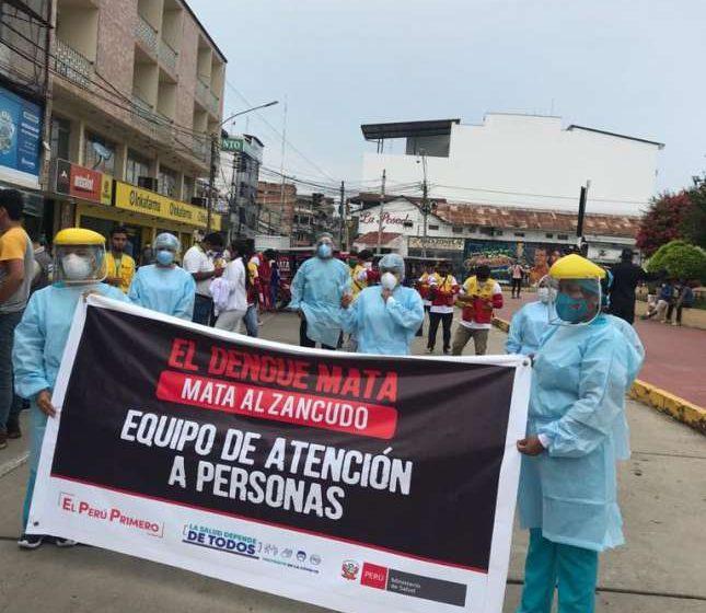 Mototaxistas de San Martín se unen a la lucha contra el dengue: El enemigo silencioso.