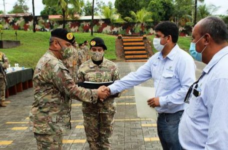Electro Oriente capacita a personal de la Tercera Brigada del Ejército en la Base Tarapoto.