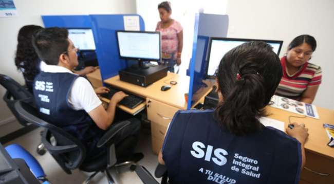El SIS, mediante comunicado garantiza la afiliación de población con vulnerabilidad