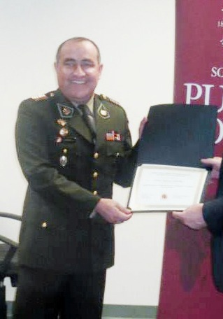 Teniente Coronel Izaud Zamora es el único  ascendido a General de Brigada del Ejercito  Peruano este 2021