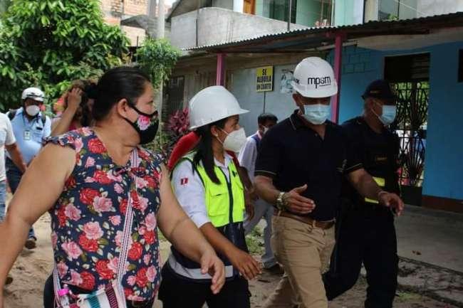 Municipalidad Provincial de San Martín inicia más obras en Tarapoto