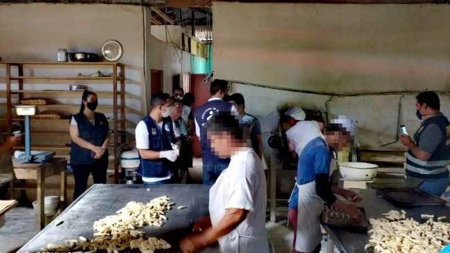 Intervienen panaderías en operativo para prevenir delitos contra la salud pública en Yurimaguas