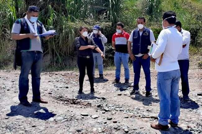 Fiscalía Ambiental de Juanjui realiza inspecciones en tres sectores del Río Huallaga en Bellavista ante presunta  actividad de minería ilegal