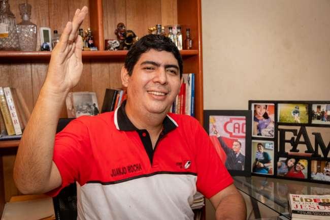 Juanjo Rocha, precandidato al congreso por Acción Popular