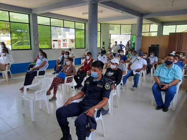Goresam y autoridades del Bajo Huallaga articulan trabajos para el desarrollo de la zona