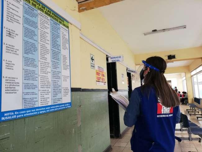 DEFENSORÍA DEL PUEBLO: Se requieren más canales de consulta para beneficiarios del Bono Familiar Universal