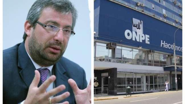 """Jefe de la ONPE: """"Ahora van a haber sanciones que pueden llegar hasta la suspensión de los partidos """""""