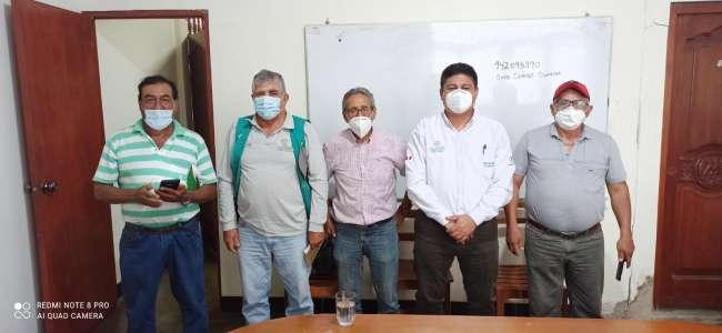 Funcionarios de la Drasam y de la Federación Agraria Selva Maestra sostuvieron reunión informativa