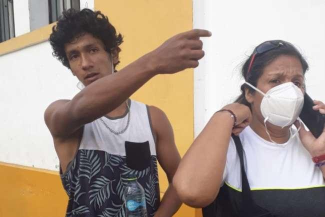 Aparece Luis Araujo Enríquez y se reencuentra con su familia