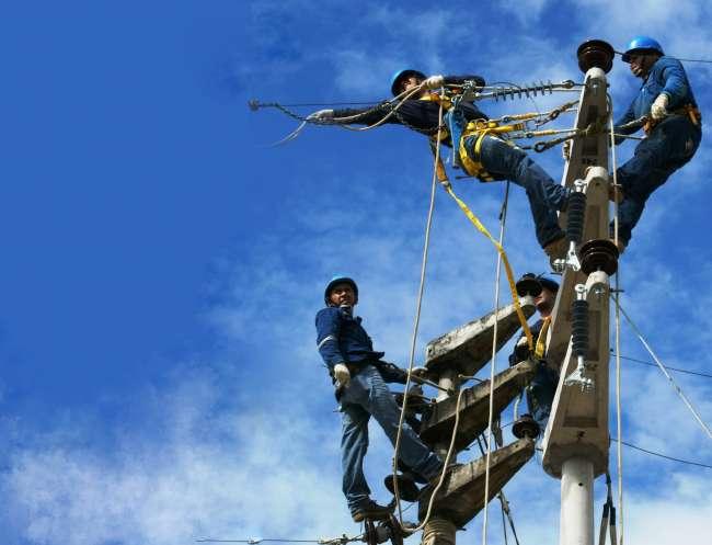 Electro Oriente realiza trabajos de mantenimiento de redes en Moyobamba y Rioja