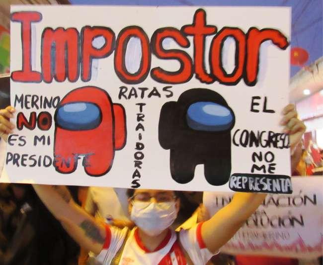 En Tarapoto y Moyobamba: Masiva marcha contra el  gobierno de Merino