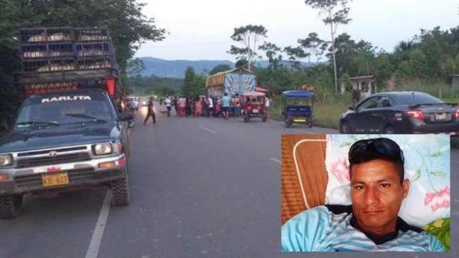 Vigilante que brindaba servicio en el aeropuerto de Tarapoto muere en accidente de tránsito