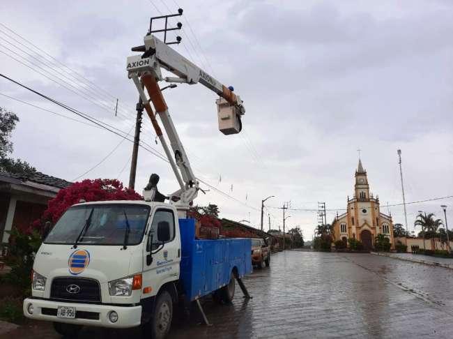 Continúa renovación del sistema de alumbrado público con tecnología LED en el Alto Mayo