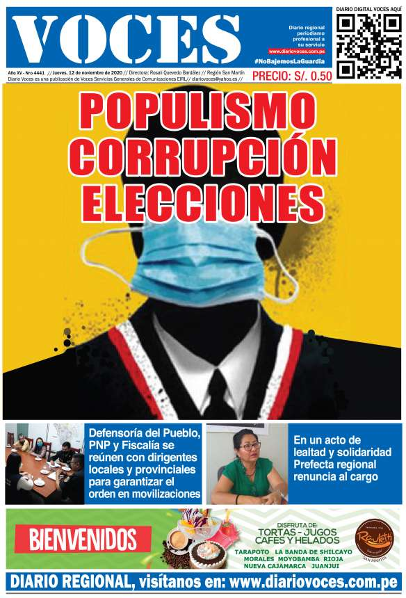 Diario Digital Jueves 12 de Noviembre del 2020