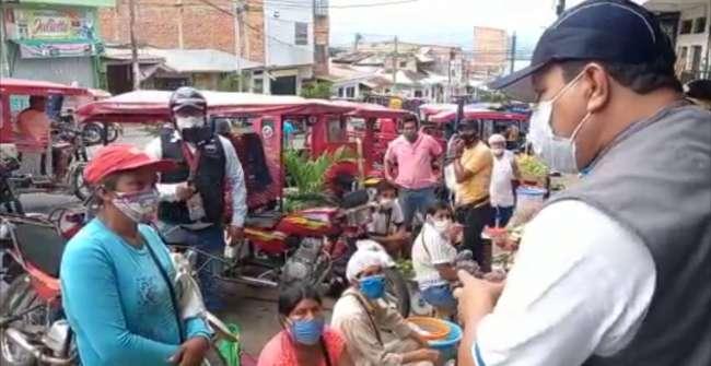 Reubicarán a ambulantes informales del barrio Comercio
