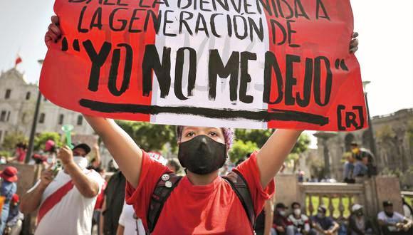 Instituto de Estudios Peruanos, más del 90% esta de acuerdo con las protestas de los jóvenes