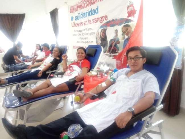 Se reactiva campañas de donación de sangre en San Martín
