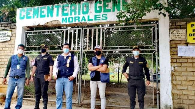 Realizaron acciones preventivas de  delitos contra la salud pública por festividad del Día de Todos los Santos