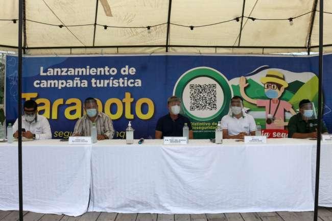 """Sauce: Realizan lanzamiento de campaña """"Tarapoto es seguro estar aquí"""""""