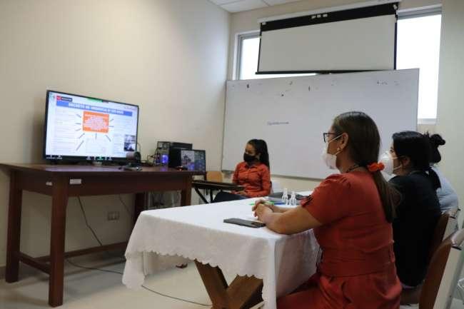 Seguimos impulsando la Telesalud en el hospital de Tarapoto